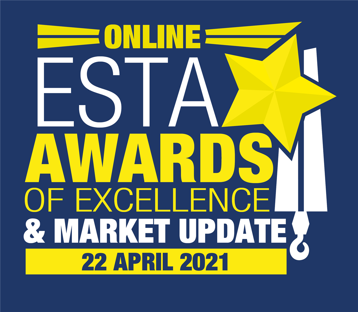 Logo fore 2021 ESTA awards & market update